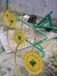 фото Грабли Солнышко 4 колесные