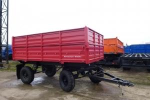Прицеп самосвальный тракторный СЗАП 8521