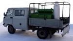 Автомобиль специальный с установкой подвижной дезинфекционной УД-1, УД-2 на платформе автомобиля УАЗ-330365, 390945